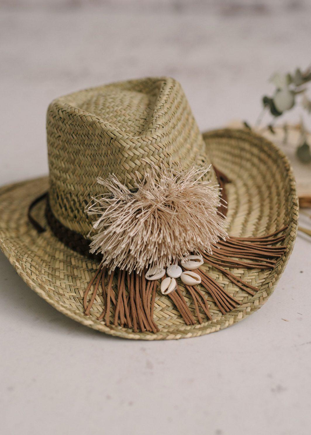 sombrero rafia