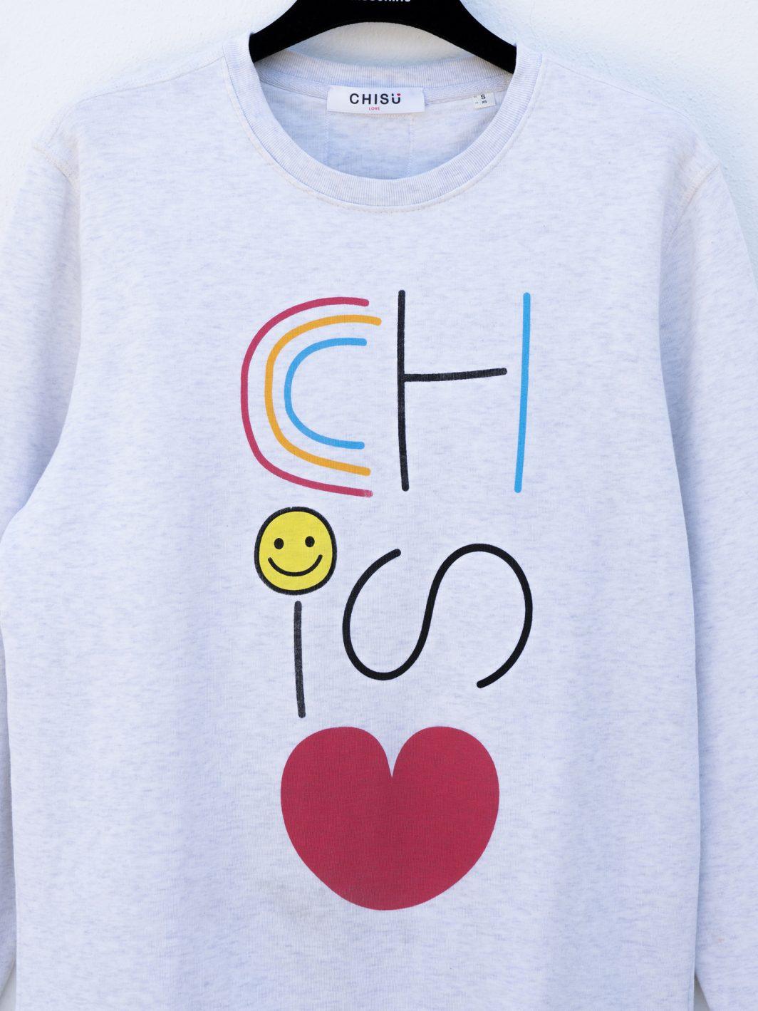 sudadera ccchisu diseño