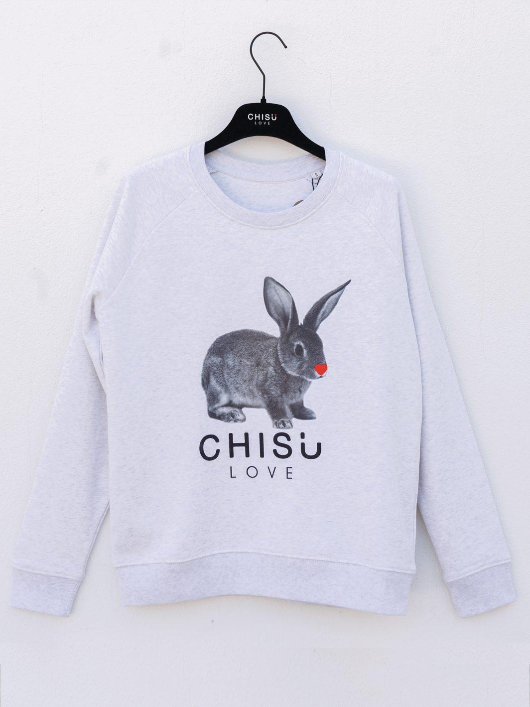 Sweatshirt rabbit love devant