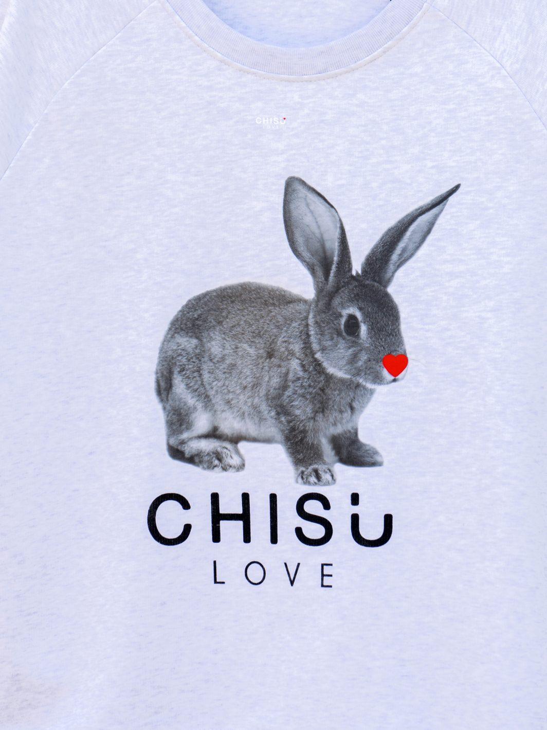 Sweatshirt rabbit love conception