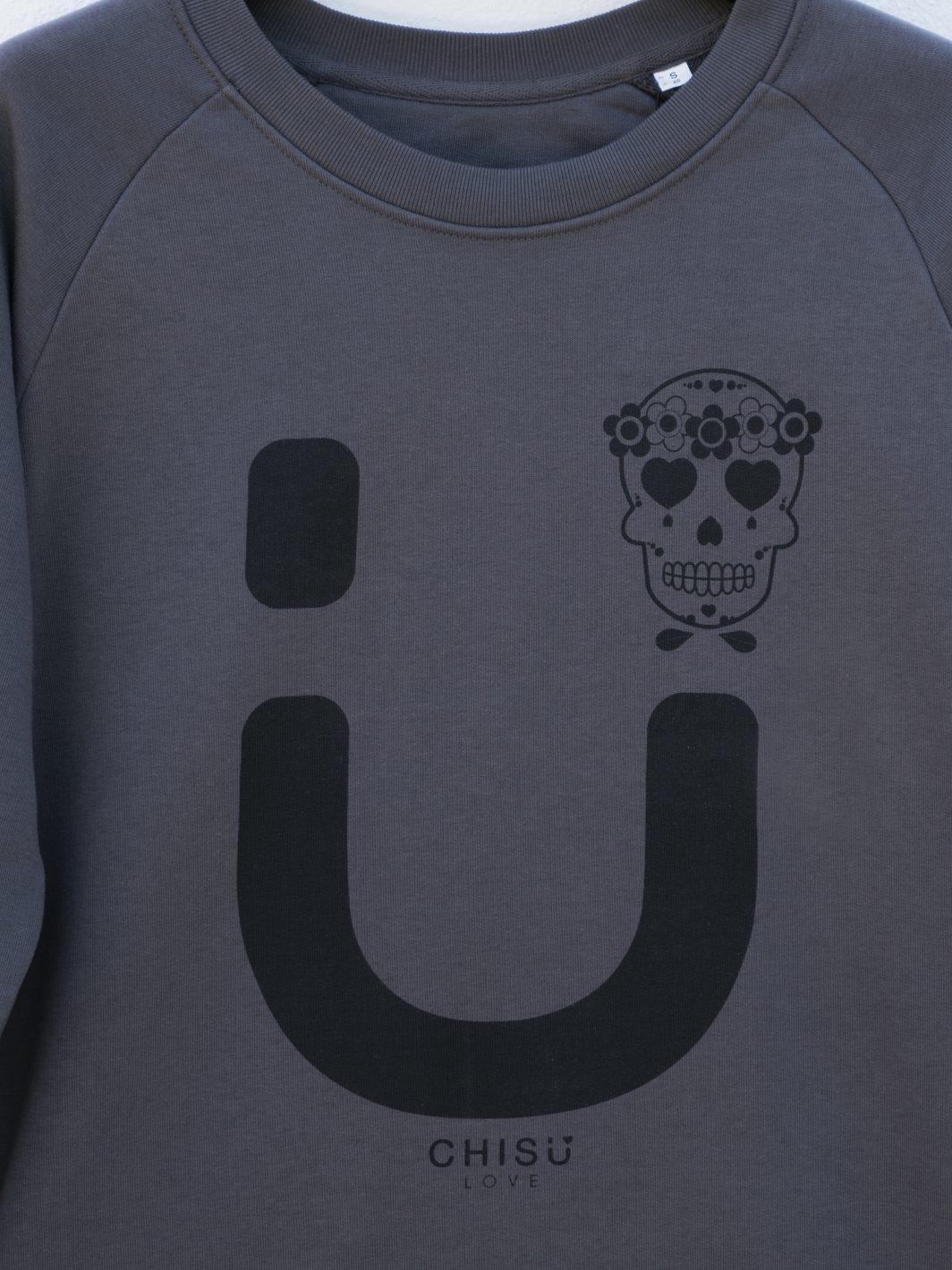 sudadera skull diseño