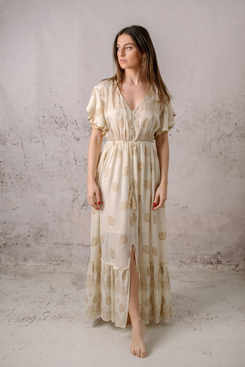 vestido boho iris