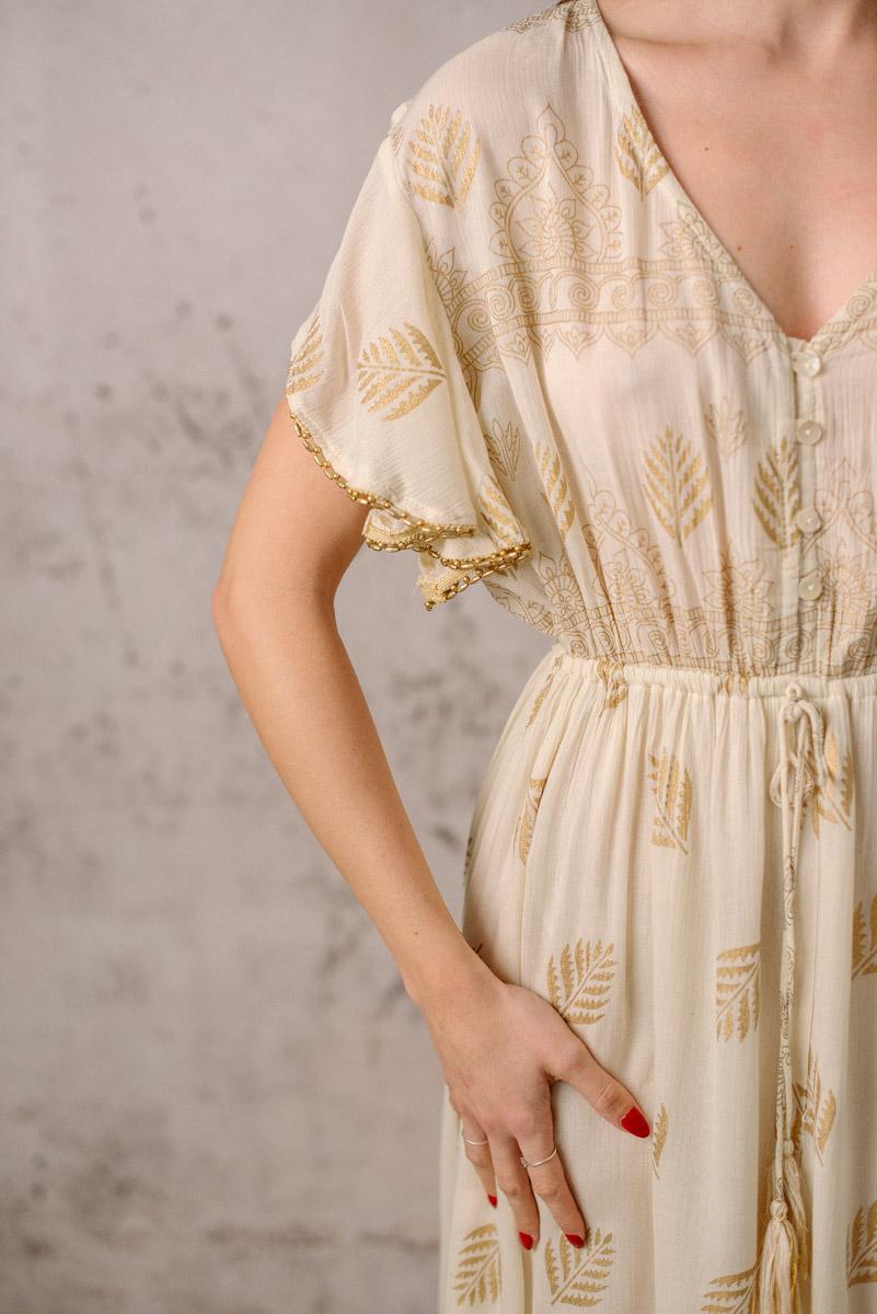 vestido boho iris manga